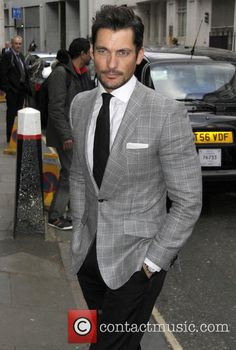 David Gandy at the LDNY fashion show