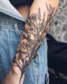1732 Likes 9 Comments Yaana Gyach tattoo artist ( on Insta - body art tattoos - Tattoo Dotwork, Forearm Tattoos, Body Art Tattoos, I Tattoo, Forearm Flower Tattoo, Fern Tattoo, Tattoos Skull, Forarm Tattoos For Women, Wheat Tattoo