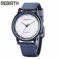 Cheap watch movies mp3 player, Buy Quality men watches led directly from China watch color Suppliers: New REBIETH Brand Fashion Men Sports Watches Men's Quartz Hour Date Clock Man Leather Strap Military Army Wristwatch Reloj Mujer #men'swatches #cheapfashion