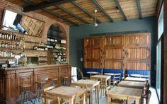 """Sui Navigli di Milano un Ristorante bistrot """"new old"""" #ristorante #recupero #navigli #legno #grigio"""