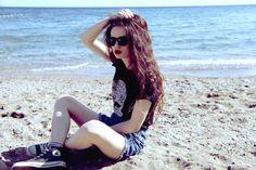 converse beach - Google 検索 #ootd coordinate style styling コーデ コーディネート コンバース キャンバス スニーカー ハイカット ローカット 白 ホワイト white 黒 ブラック black