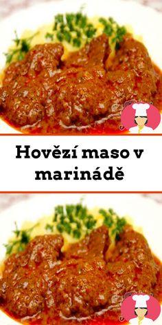 Hovezí maso v marináde Beef, Food, Meat, Essen, Meals, Yemek, Eten, Steak