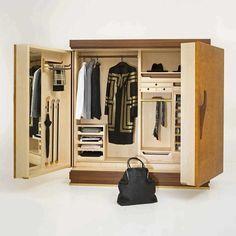 Gentleman wardrobe by Guglielmo Ulrich for Ceccotti Collezioni