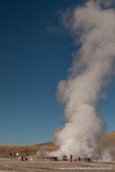 Geyser El Tatio em San Pedro de Atacama