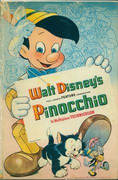 """Wish Upon a Star: The Art of Pinocchio"" exhibit recap. Pinocchio is NOW available on Digital HD & Disney Movies Anywhere & Blu-ray on January Walt Disney Animation, Disney Pixar, Pinocchio Disney, Film Disney, Disney Art, Posters Disney Vintage, Retro Disney, Disney Movie Posters, Disney Love"