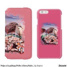 Pulpo a la gallega/Polbo á feira/Galician octopus Funda Cartera Para iPhone 6 Watson