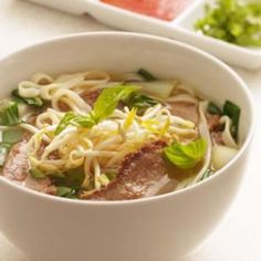 Vietnamese-Style Beef & Noodle Broth. #dinner #recipe #food
