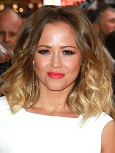 Sexy summer hair colour trends: Kimberley Walsh rocks the perfect short ombre bob #hairspiration