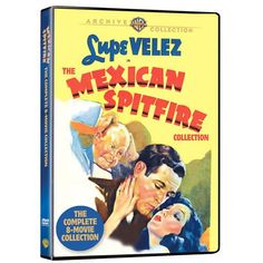 Mexican Spitfire Complete 8-Movie Collection from Warner Bros.: Beautiful and vivacious Lupe Velez plays… #Movies #Films #DVD Video