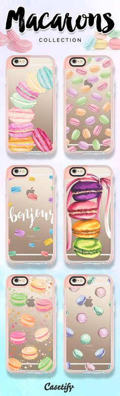 Become a macaron in a cookie cutter world. Take a look at these cases featuring macarons on our site now!  https://www.casetify.com/search?keyword=macaron | @casetify