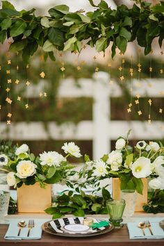 St Patrick's Day Wedding Ideas, photo by Sara and Rocky, styling by Birds of a Feather Events http://ruffledblog.com/st-patricks-day-wedding-ideas #reception #tablescape #stpatricksday