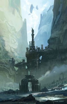 The Necreous Gate by ~ThomTenery on deviantART