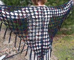 Easy Crochet Projects | TRIANGLE SHAWL PATTERN CROCHET | Easy Crochet Patterns