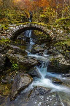 "scotianostra: "" The Old Roman Bridge at Glen Lyon """