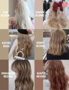 Hair Color Streaks, Hair Dye Colors, Kawaii Hairstyles, Pretty Hairstyles, Korea Hair Color, Mode Turban, Asian Short Hair, Pretty Hair Color, Aesthetic Hair
