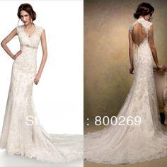 2014-New-Elegant-Corset-Lace-Mermaid-Wedding-Dress