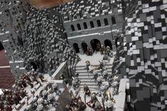 La bataille du Gouffre de Helm recréée en LEGO - image #07