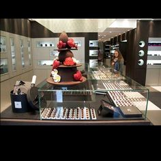Pierre Marcolini chocolate boutique in Brussels Belgium.