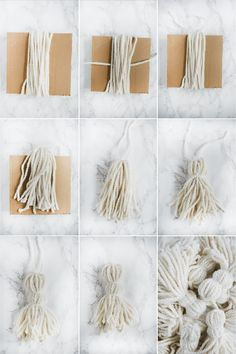 Create a high end looking DIY Giant Tassel Throw Blanket by purchasing a fun patterned blanket and adding some chunky yarn tassels! Diy Throw Blankets, Diy Throws, Diy Pillows, Boho Throw Blanket, Diy Pillow Covers, Chunky Blanket, Blanket Yarn, Cushion Covers, Decorative Pillows
