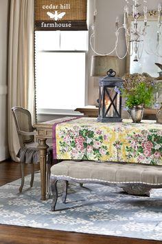 Summer Table w/ Anita Cedar Hill Farmhouse