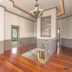 Grand foyer.  Entryway.