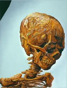 Salvador Dali Best Known Work | Glenn Brown Suffer Well , 2007