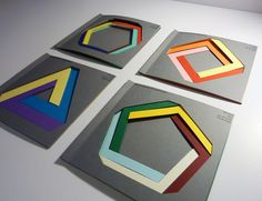 Achieve the impossible with Imaginative Colours - William Cundall Typo Design, Graphic Design Print, Book Design, Paper Art, Paper Crafts, Cut Paper, Typography Images, Print Layout, Design Graphique
