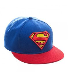 Superman Logo Baseball Cap