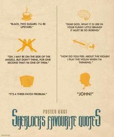 Sherlock quotes poster 1
