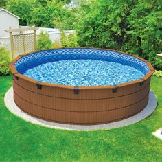 Pools for small backyards on pinterest small pools small backyards and small swimming pools for Above ground swimming pools for small yards