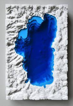 """Saatchi Art Artist Olga Skorokhod; Sculpture, """"Lake Tahoe"""" #art"""