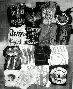 Guns n Roses  ☑ Pink Floyd     ☑ Nirvana ☑ The Beetles Rolling Stones Led Zeppelin The Doors Red Hot Chilli Peppers