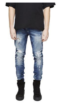 37.56$  Watch now - https://alitems.com/g/1e8d114494b01f4c715516525dc3e8/?i=5&ulp=https%3A%2F%2Fwww.aliexpress.com%2Fitem%2F2016-represent-clothing-30-36-mens-jumpsuit-high-waist-slim-fit-european-designer-moto-rockstar-skinny%2F32653552753.html - 2016 represent clothing 30-36 mens jumpsuit high waist slim fit european designer moto rockstar skinny men distressed jeans 37.56$