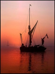 Photograph Sailing into the sun set by Ronald Coulter on 500px