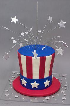 uncle sam's hat cake | Uncle Sam Hat Cake | Flickr - Photo Sharing!