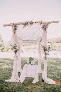 Lace arbor | Wedding & Party Ideas | 100 Layer Cake