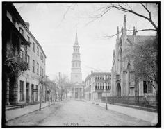 French-Huguenot-Church-Saint-Philips-Church-Charleston-South-Carolina-SC-1900