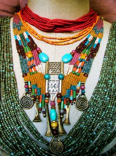 ~ Ethnic Jewelry...My Tribe ~ by AowDusdee, via Flickr