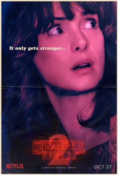 Are you ready for things to get even stranger when we return to the town of Hawkins in just a few weeks time? Netflix has just debuted 12 new character posters for the second season of Stranger Things. Stranger Things Characters, Watch Stranger Things, Stranger Things Netflix, Strange Things Season 2, Foto Top, Joyce Byers, Winona Ryder, New Poster, It Cast