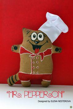 Кофейный котик шеф-повар-1