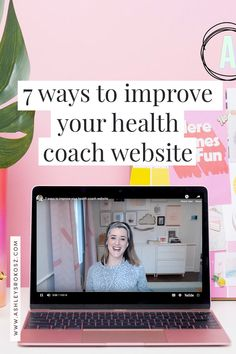 .One of the things I love to do the most as a wellness website expert is to give professional feedback to improve your health coach website in the form of a live website review... Find out more, here! #WebDesign #WebSiteTips #Improviement Lifestyle Group, Healthy Lifestyle, Coach Website, Holistic Nutrition, Massage Therapy, Health Coach, Pinterest Marketing, Improve Yourself, Coaching