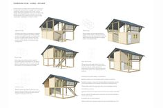 Atelier COLE, Building Trust international and Habitat for Humanity Cambodia developed a creative affordable housing scheme encouraging and promoting client involvement in design and future expansion of their home. Cabana, Bamboo Architecture, Bamboo House, Bamboo Plants, Habitat For Humanity, Affordable Housing, Modular Homes, Simple House, House Rooms