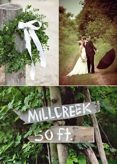 Outdoor Weddings Do Yourself Ideas | steer away from a wedding filled with vibrant colors and tons of