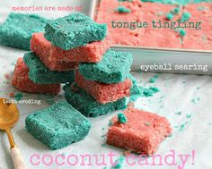 Singapore coconut candy.                             THE LIBYAN.                                                   Esther Kofod.                                      www.estherkofod.com