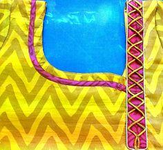 Ideas For Fashion Design Book – holdon Chudithar Neck Designs, Salwar Neck Designs, Neckline Designs, Neck Designs For Suits, Saree Blouse Neck Designs, Kurta Neck Design, Blouse Back Neck Designs, Patch Work Blouse Designs, Fancy Blouse Designs