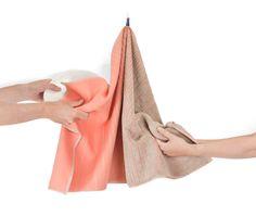 TwoTowel pink beige - Wonen - BijzonderMOOI* - Dutch design