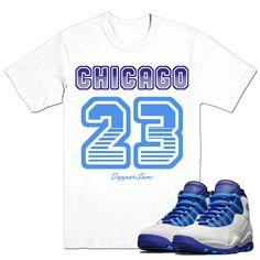 040ce80dda478c Jordan retro 10  Charlotte - 23 Sneaker Match T-shirt