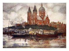 Nico Jungman : St. Nicholas' Church, Amsterdam, 1904