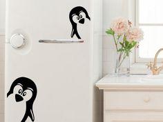 Ambiance Samolepka Veselí tučňáci
