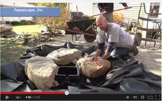 Pondless water feature video tutorial